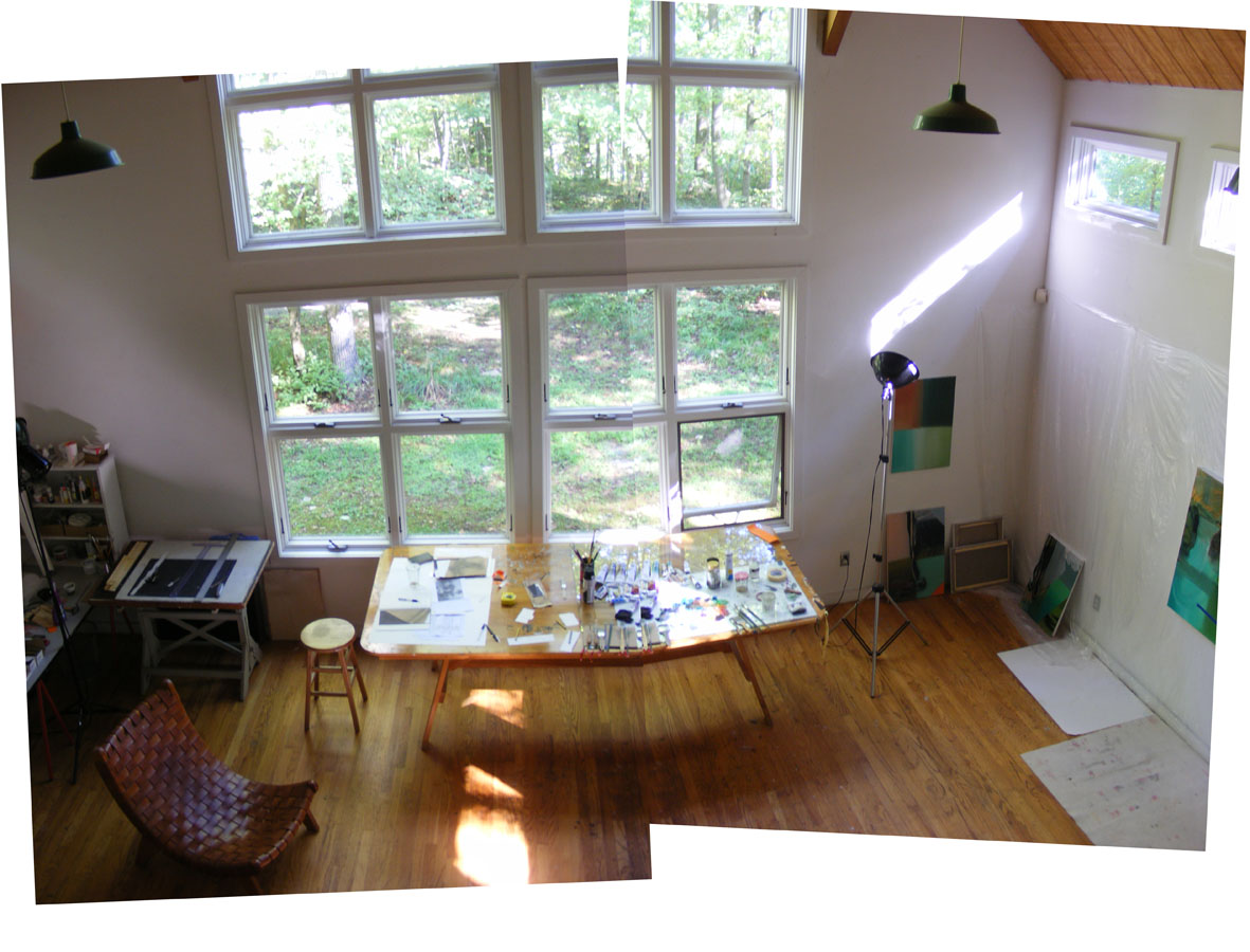 Studio at the Albers Foundation
